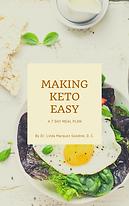 07.27.2020 Making Keto Easy eBook Cover