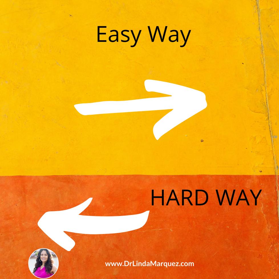Is Easy Always Good?