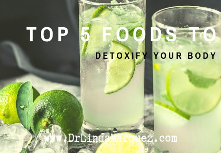 Top 5  Foods to Detoxify Your Body