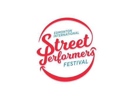 Edmonton International Street Performers Festival Branding
