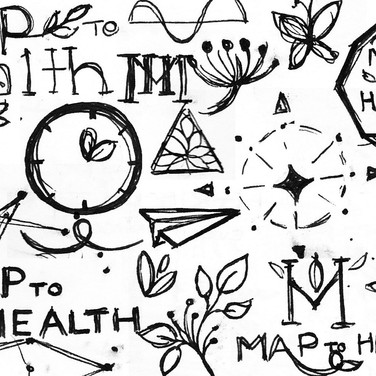 Kristin Gibson, Freelance Graphic Designer, Edmonton, Alberta, Map to Health