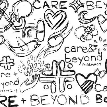 Kristin Gibson, Freelance Graphic Designer, Edmonton, Alberta, Care & Beyond Pharmacy