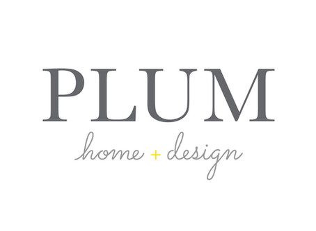 Plum Home + Design Branding