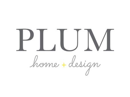 Plum Home + Design Branding