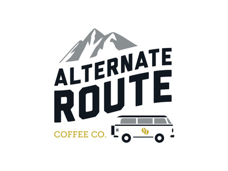 Alternate Route Coffee Co. Branding
