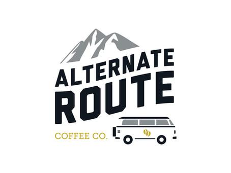 Alternate Route Coffee Co. Branding