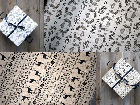 Phlo Design Wrapping Paper