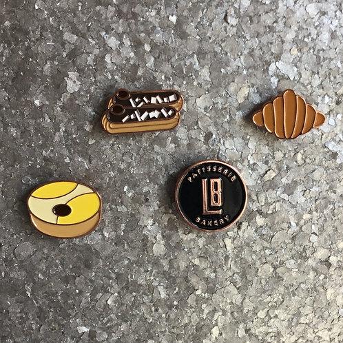Enamel Pins - 4 Pack