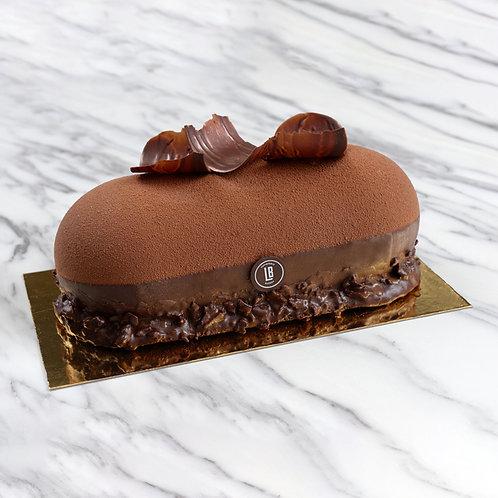 """Full Sized 8"""" Chocolate Mousse Gateau"""