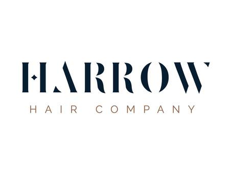 Harrow Hair Company Branding