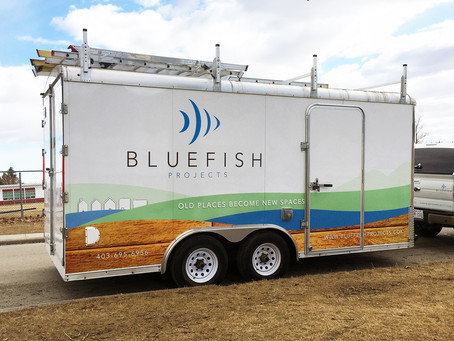 Bluefish Projects Trailer Wrap