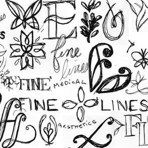 Kristin Gibson, Freelance Graphic Designer, Edmonton, Alberta, Fine Lines Medical Aesthetics