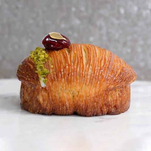 Sour Cherry & Pistachio Danish