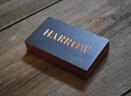 Harrow Hair Company: Business Cards
