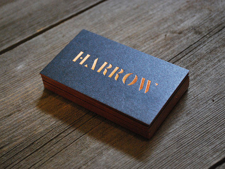 Harrow Hair Company: Business Cards