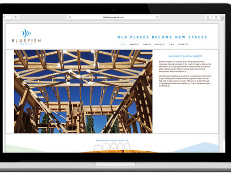 Bluefish Projects Website