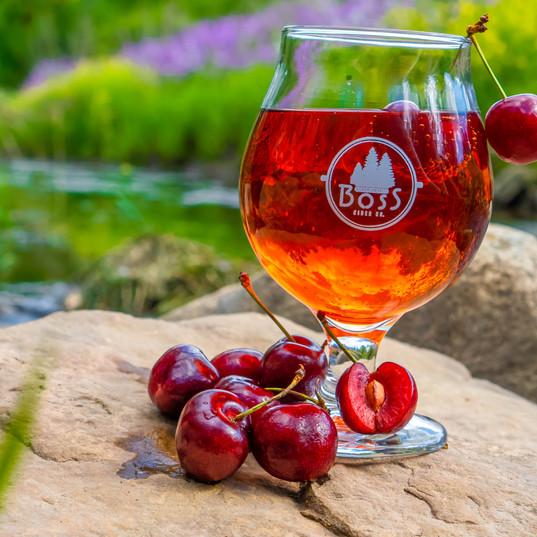 Apple Cherry Hard Cider