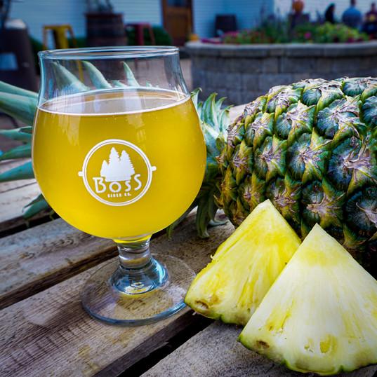 Apple Pineapple Hard Cider