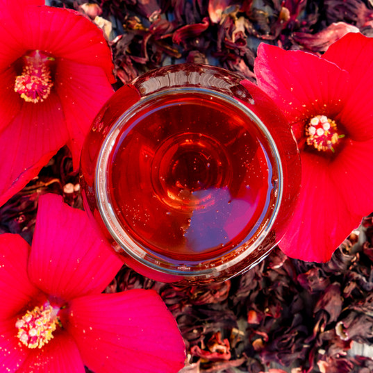 Hibiscus Tea Hard Cider