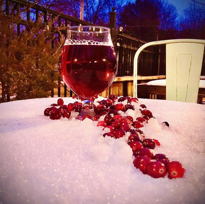 Satine-Cranberry Hard Cider