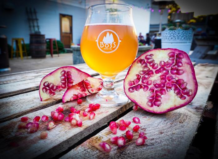 Pas Me Bourre-Apple Pomegranate Hard Cider