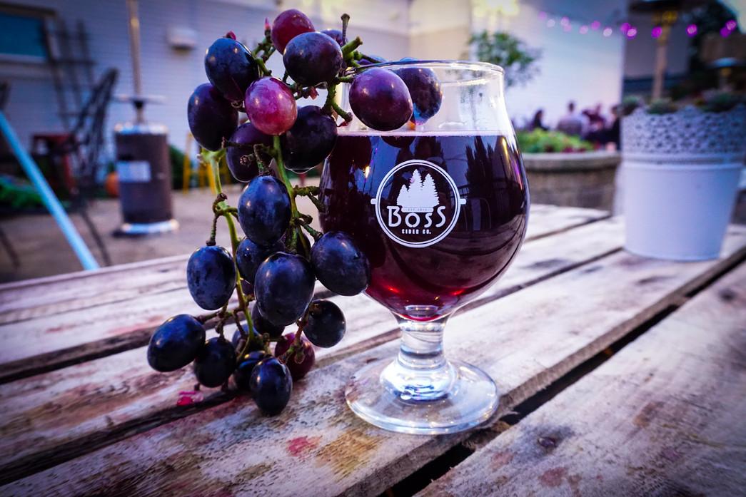 Purple Hershal-Grape Hard Cider