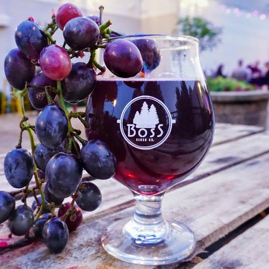 Concord Grape Hard Cider