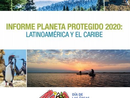 ¡Ya tenemos informe LAC sobre áreas protegidas 2021!