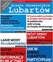 Okładka 4 wydania Miasta Obywatelskiego Lubartów