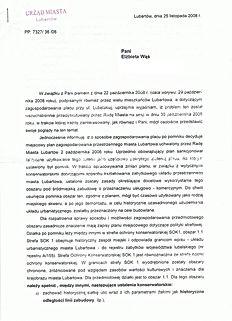Plac Piłsudskiego Lubartów