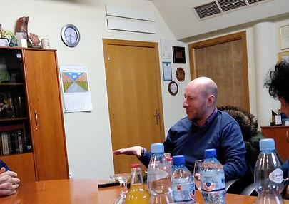 Miasto Obywatelskie Lubartów z Christianem Davies'em u Burmistrza