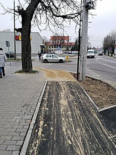 Ścieżki rowerowe Lubartów. Mobilny LOF