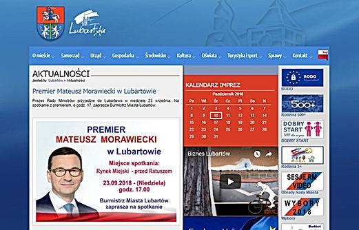 Premier Morawiecki w Lubartowie