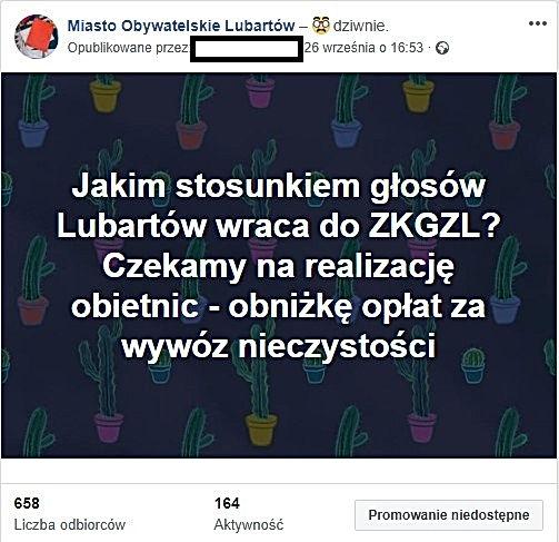 ZKGZL_facebook Miasto Obywatelskie Lubartów
