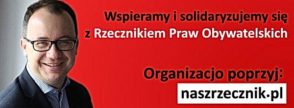 Poparcie Rzecznika Praw Obywatelskich (Lubartów)