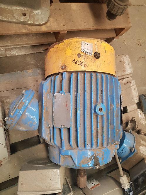 Motor de 1760 rpm, 7.5 hp #3097