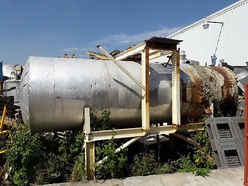 Tanque con estructura 1.50m de diámetro x 5.40 m de altura #074