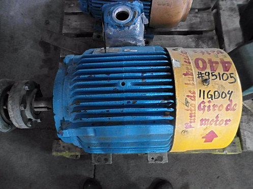 Motor de 75 hp y 1775 rpm #438