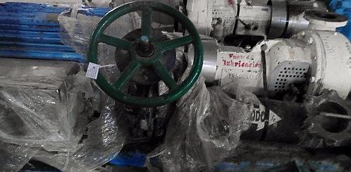 Motor de 125 hp y 1785 rpm con Bomba Centrífuga y Válvula de Cuchilla #361