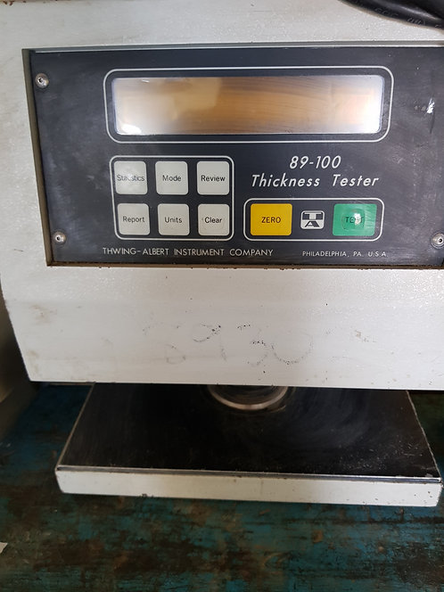 Thickness tester 89-100