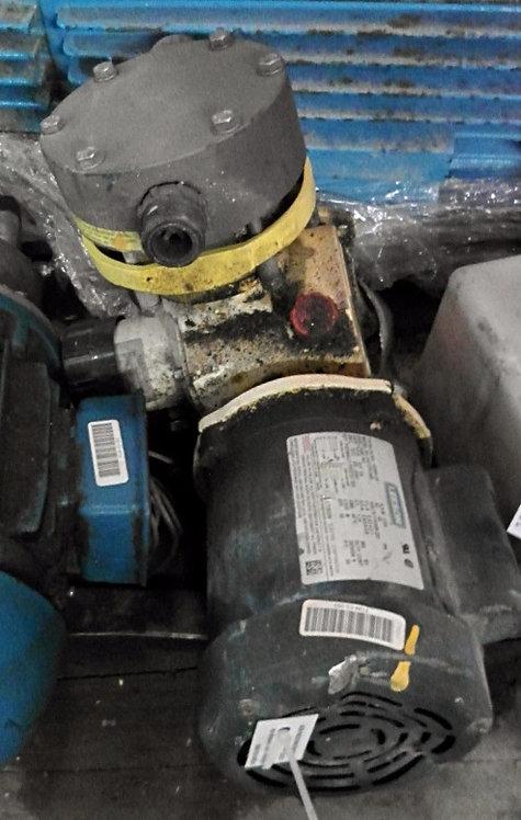 Bomba Dosificadora de 1 hp y 1725 rpm #093