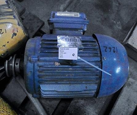 Motor de 1755 rpm, 5 hp #1262