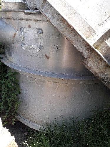 Tanque 2.20 m de diámetro x 1.80 m de altura #082