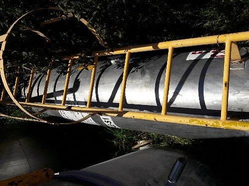 Tanque de saturación 0.90 m de diametro x 4.20 m de altura #099