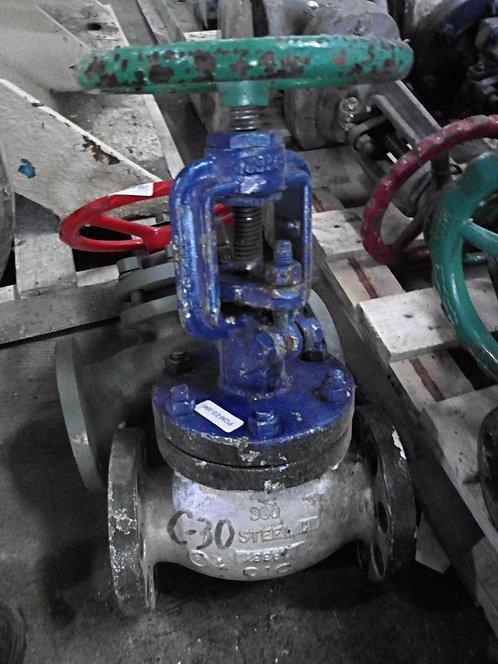 """Válvula manual de globo de 2.5"""" #996"""