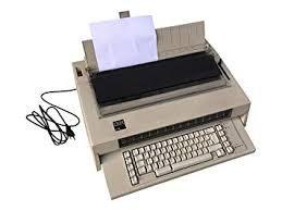Maquina de escribir eléctrica 6746 #658