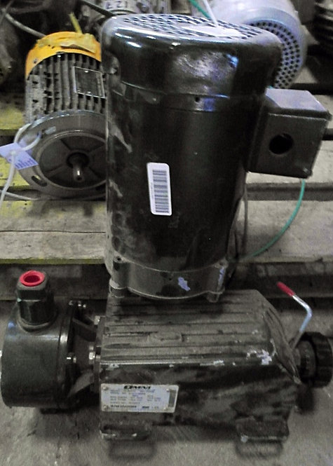 Motobomba de 0.5 hp y 1725 rpm #091