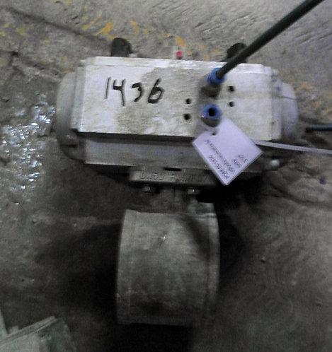 "Válvula neumática de bola de 3 1/2"" #1436"