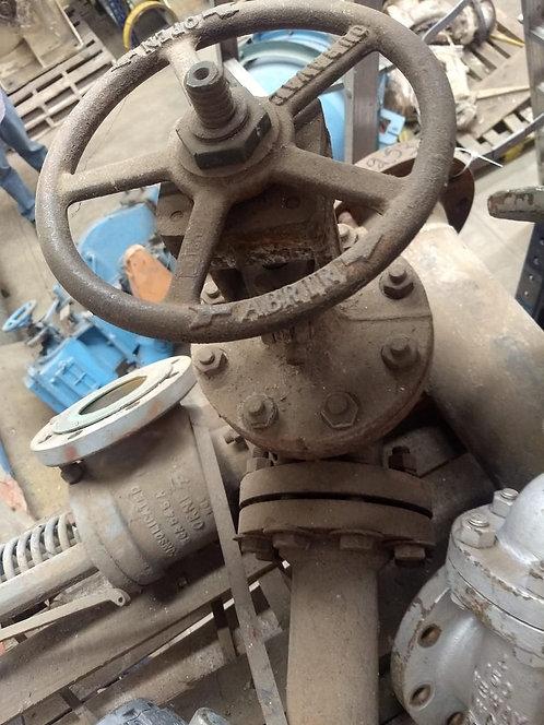 """Válvula de vapor de 4"""" #3253"""