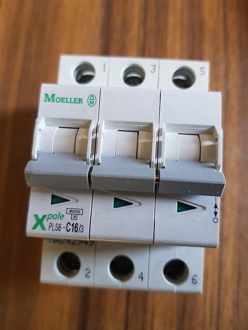 Interruptor automático magnético PLS6-C16/3-MW #450